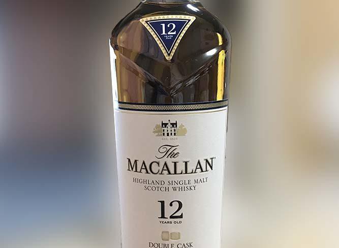 マッカラン12年 ダブルカスク MACALLAN12 DOUBLE CASK