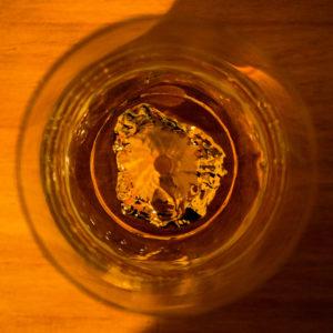 田島硝子 江戸硝子 富士山 ロックグラス